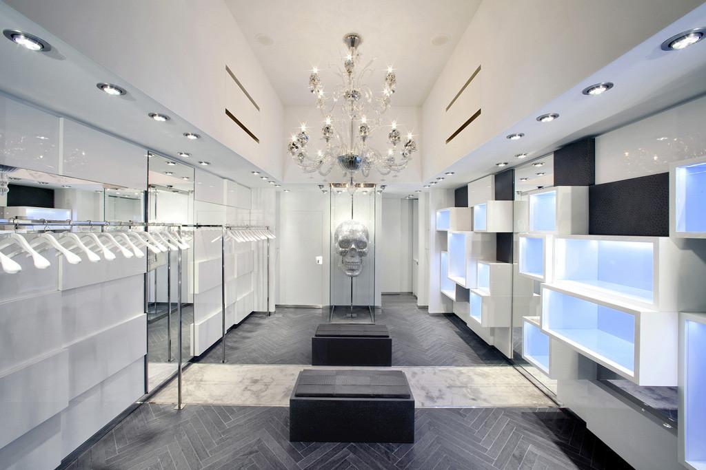 Philipp Plein Store / AquiliAlberg, Courtesy of  aquilialberg
