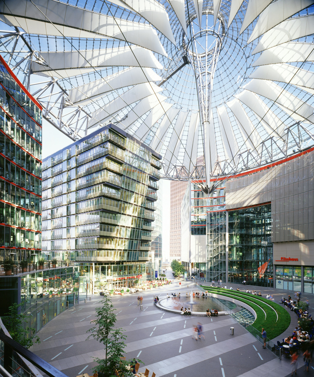 Flashback: Sony Center Berlin / Murphy Jahn, © Rainer Viertlbock