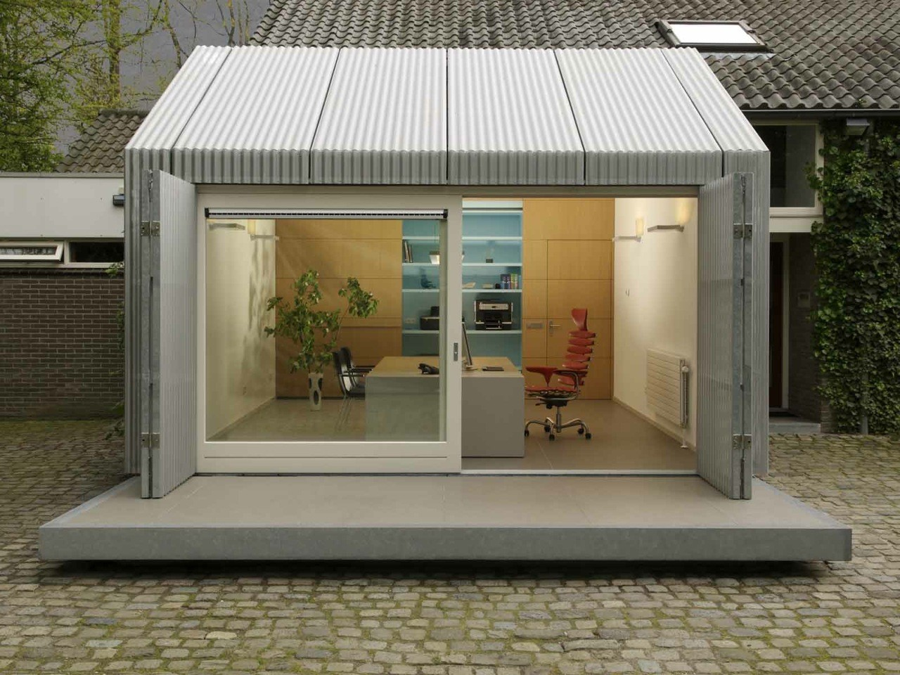 Home Office Space / architecten | en | en, © Post & Van Leeuwen Photographers