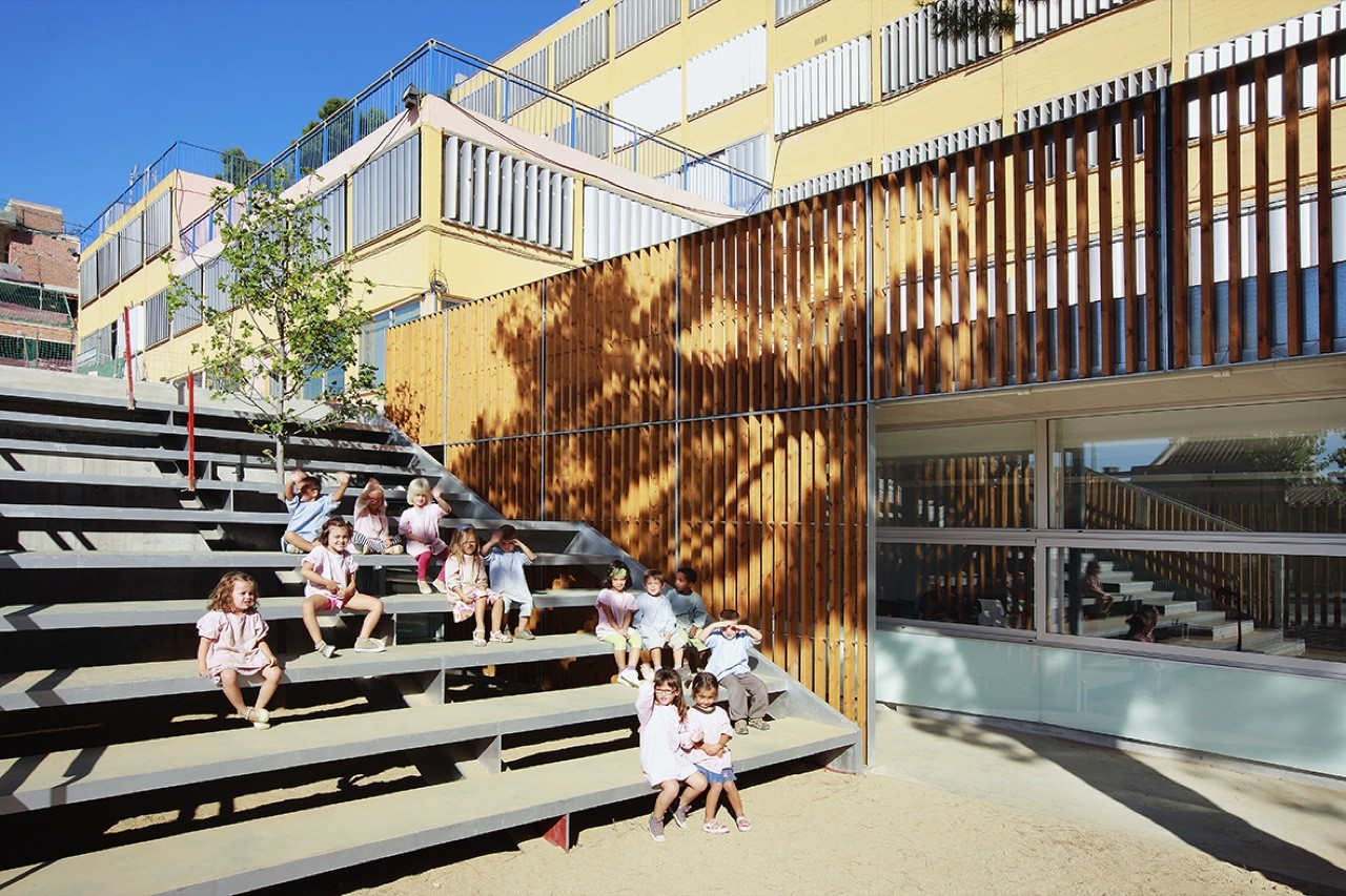 Sant Gregori School Remodelling and Extension / Coll-Leclerc Arquitectos, © Jose Hevia