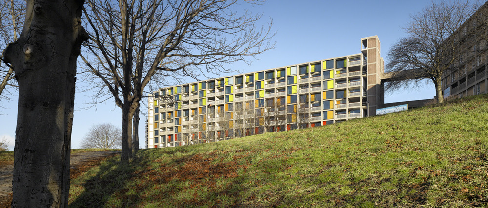 Park Hill / Hawkins Brown with Studio Egret West, © Daniel Hopkinson