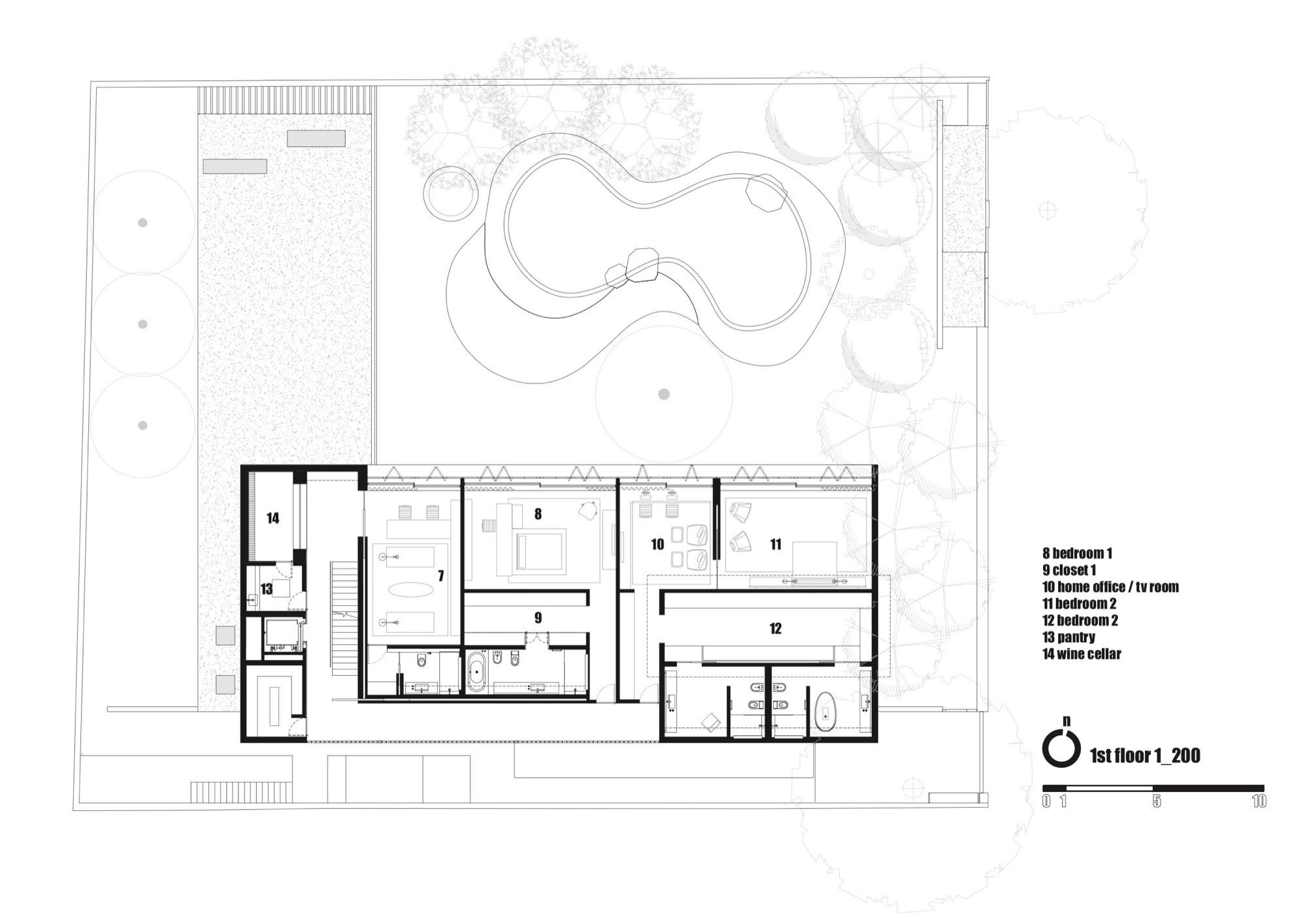 Gallery of cobog house marcio kogan 39 for Marcio kogan plans