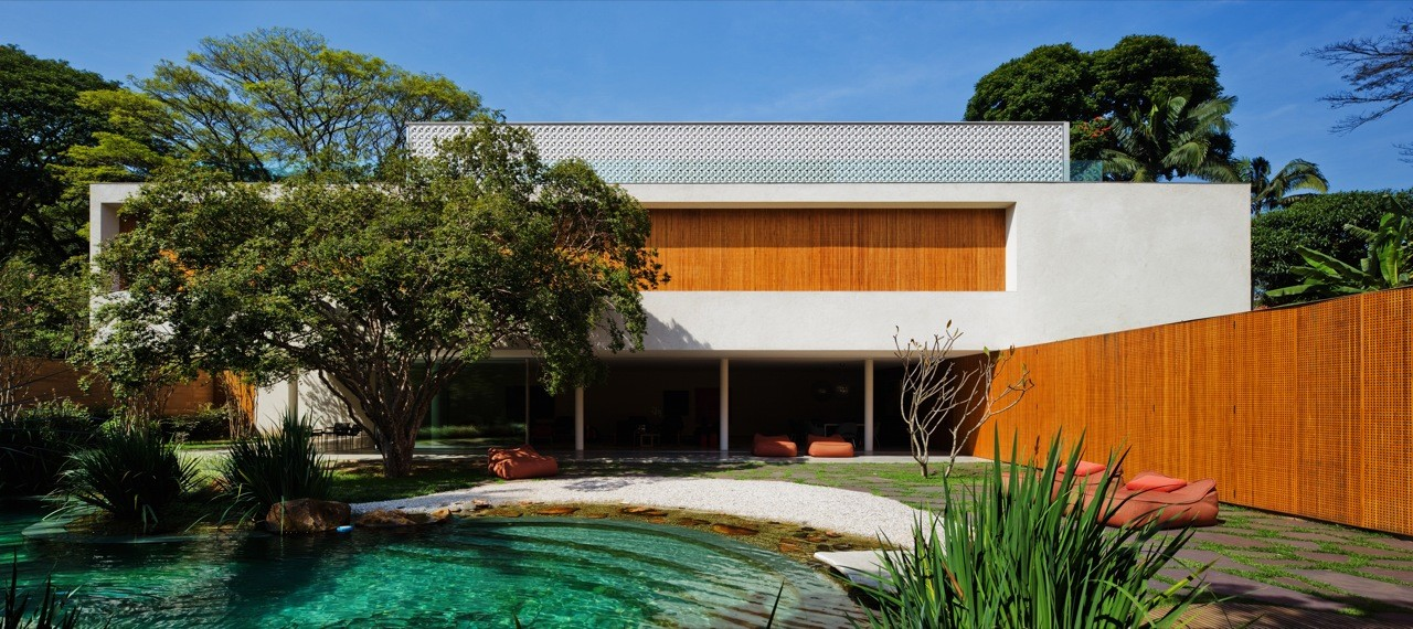 Cobogó House / Marcio Kogan, © Nelson Kon