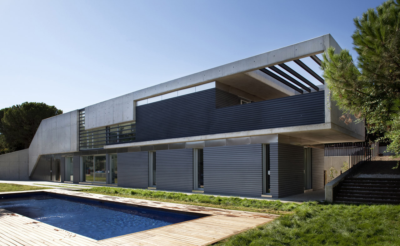 Roncero House Alt Arquitectura Archdaily