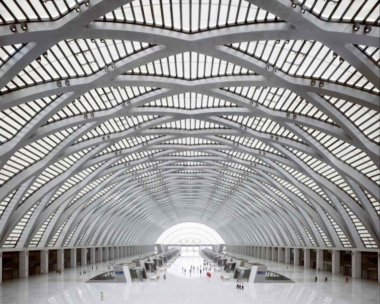 Tianjin West Railway Station / gmp architekten, Courtesy of  gmp architekten