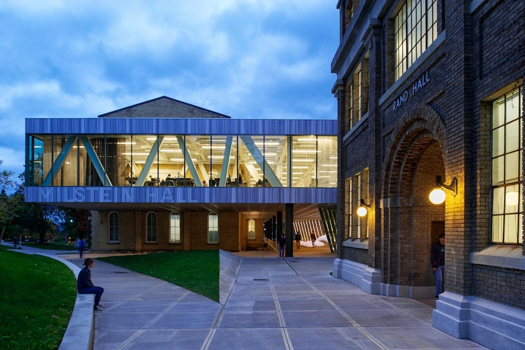 Milstein Hall at Cornell University / OMA   ArchDaily