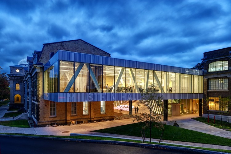 milstein hall at cornell university / oma | archdaily