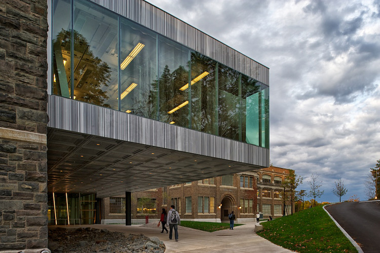 Milstein Hall At Cornell University Oma Archdaily