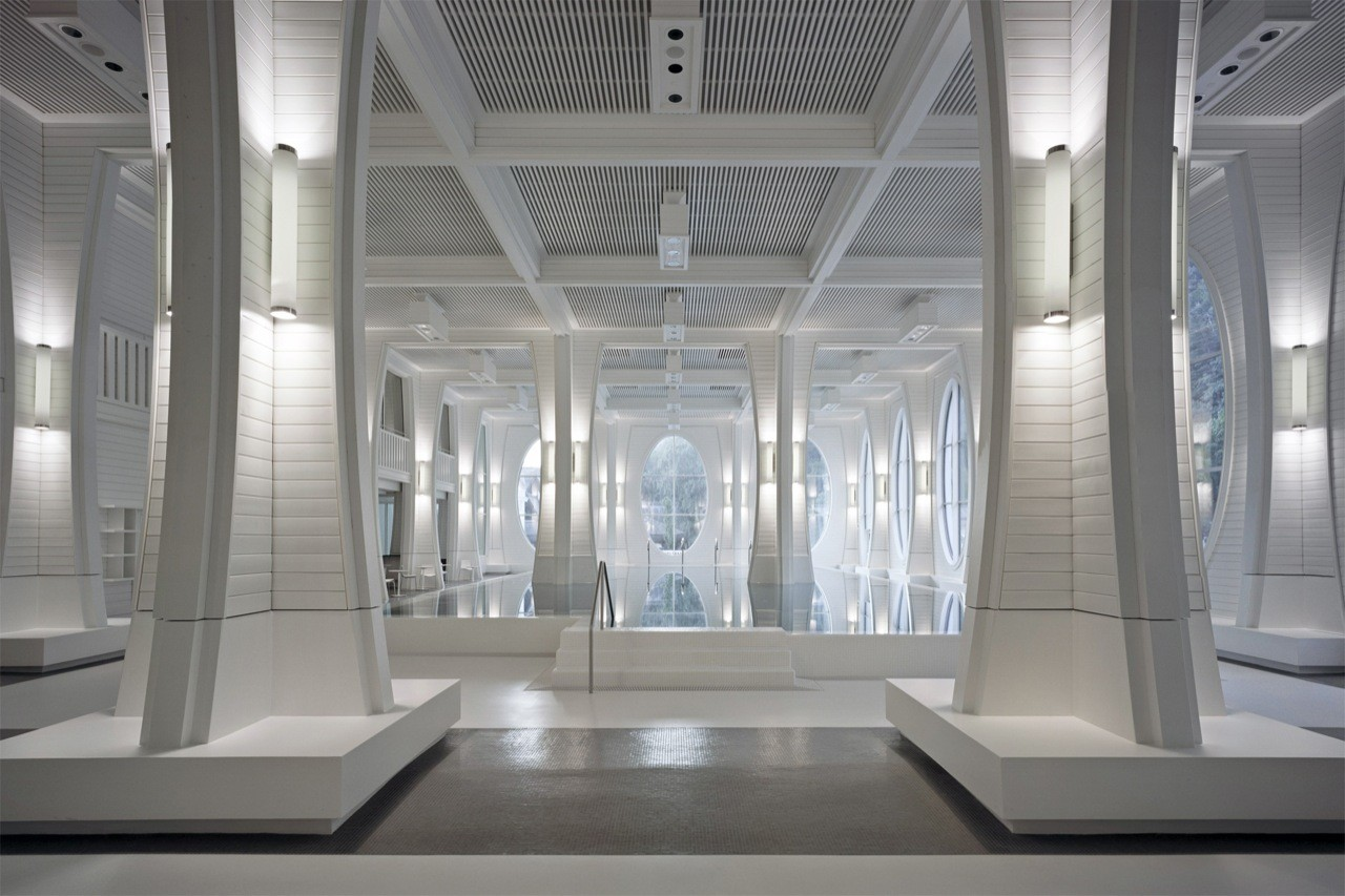 Gallery of tamina thermal baths smolenicky partner for Interior design schweiz