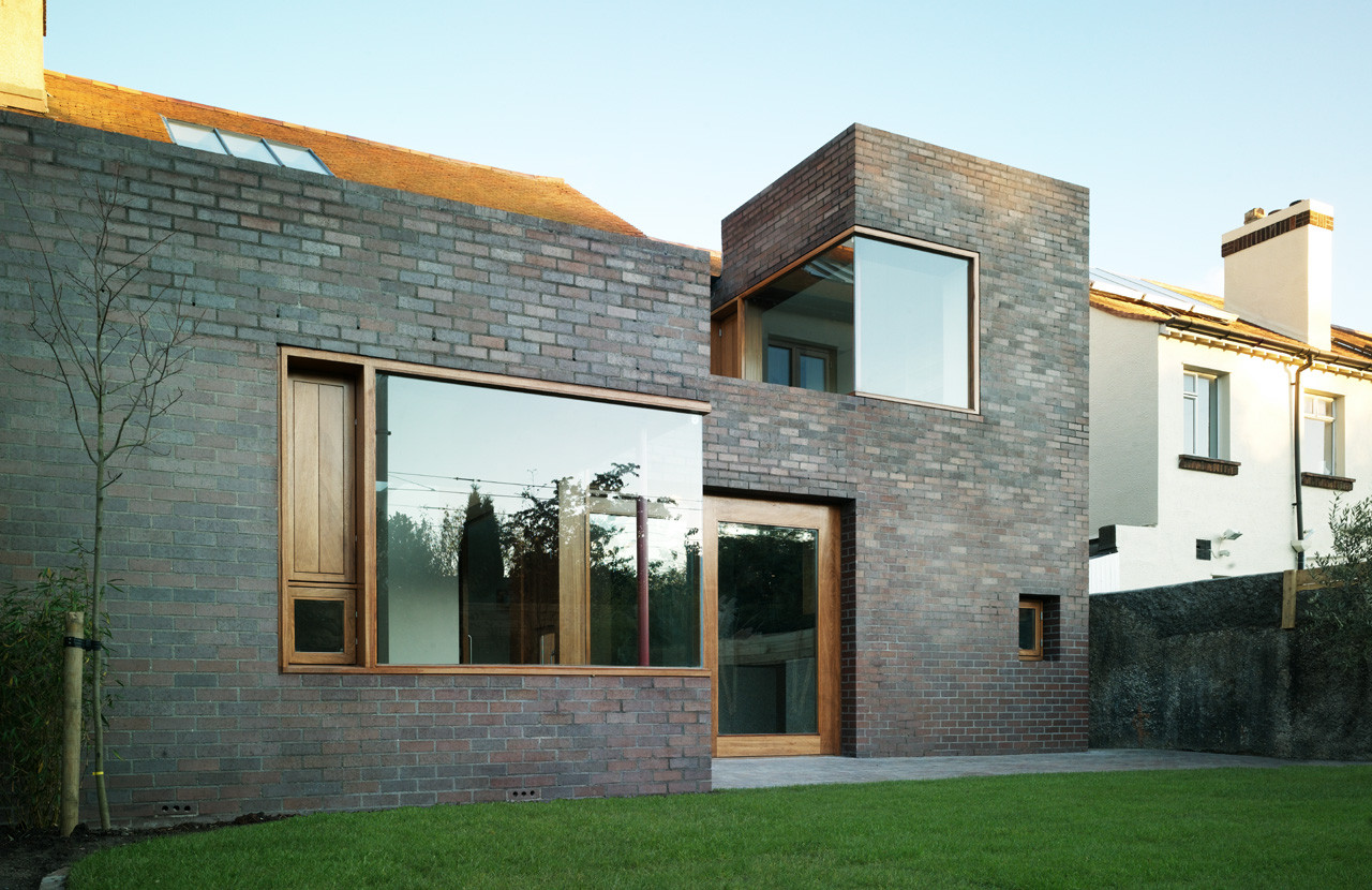 brick thickness a2 architects archdaily. Black Bedroom Furniture Sets. Home Design Ideas