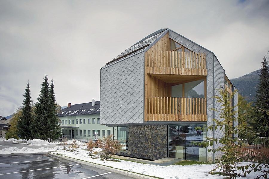 Alpine ski apartments ofis arhitekti archdaily for Ofis arhitekti