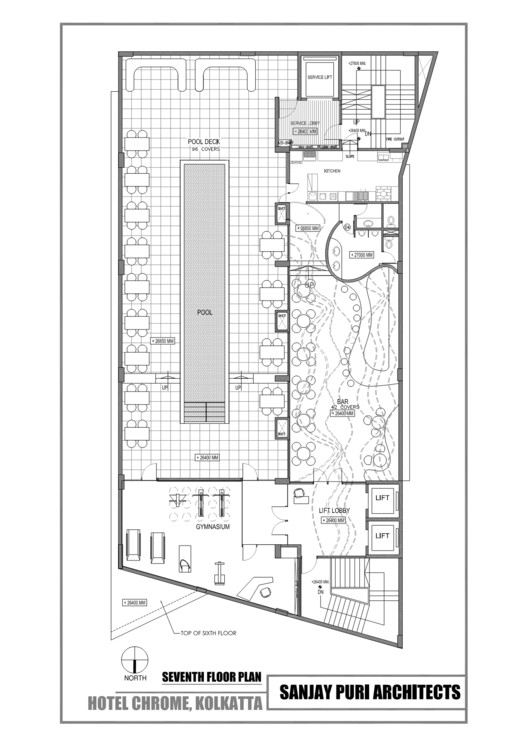 Level seven floor plan