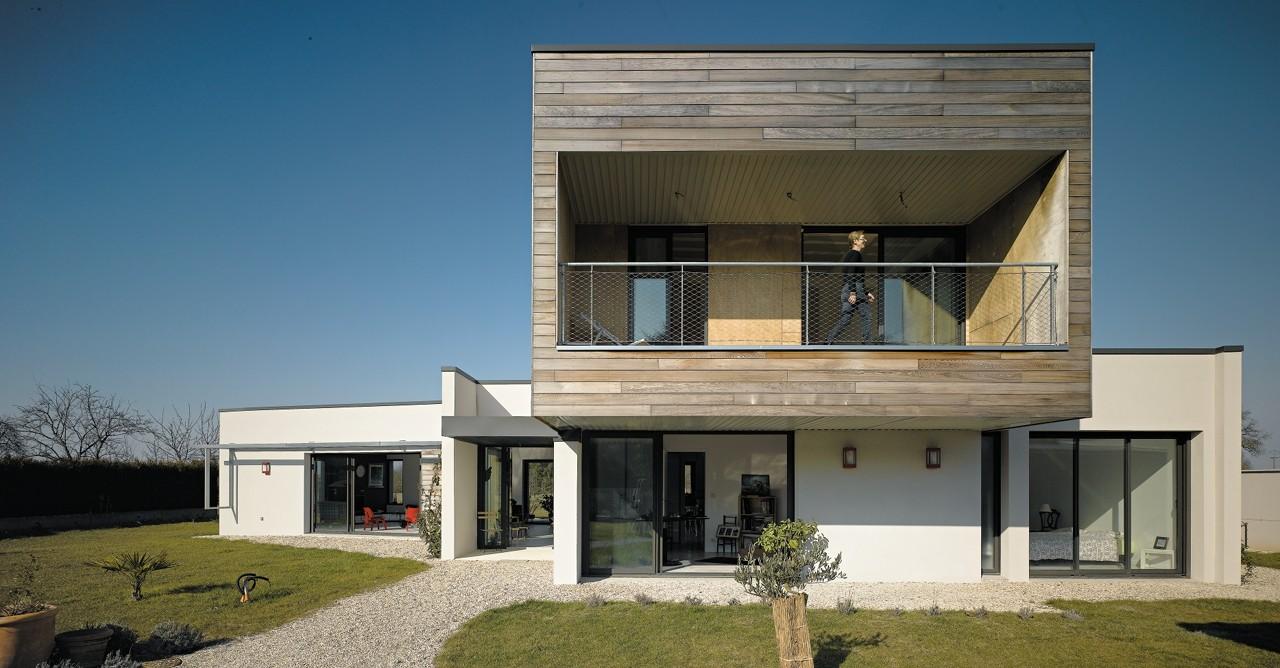 Maison p c atelier alassoeur architecture archdaily for Architecture moderne maison