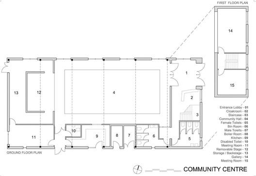 Community Centre Plans