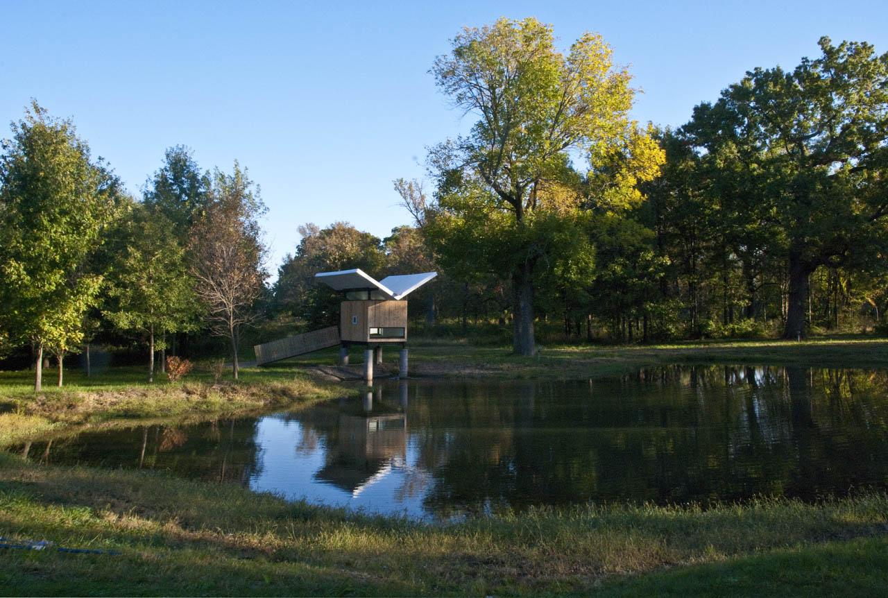 "Meditation Hut III ""Victor"" / Jeffery S. Poss Architect, © Jeffery S. Poss"
