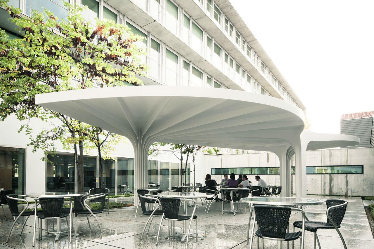 Leaf-Structured Canopy / SAM Architekten und Partner, Courtesy of  sam architekten und partner
