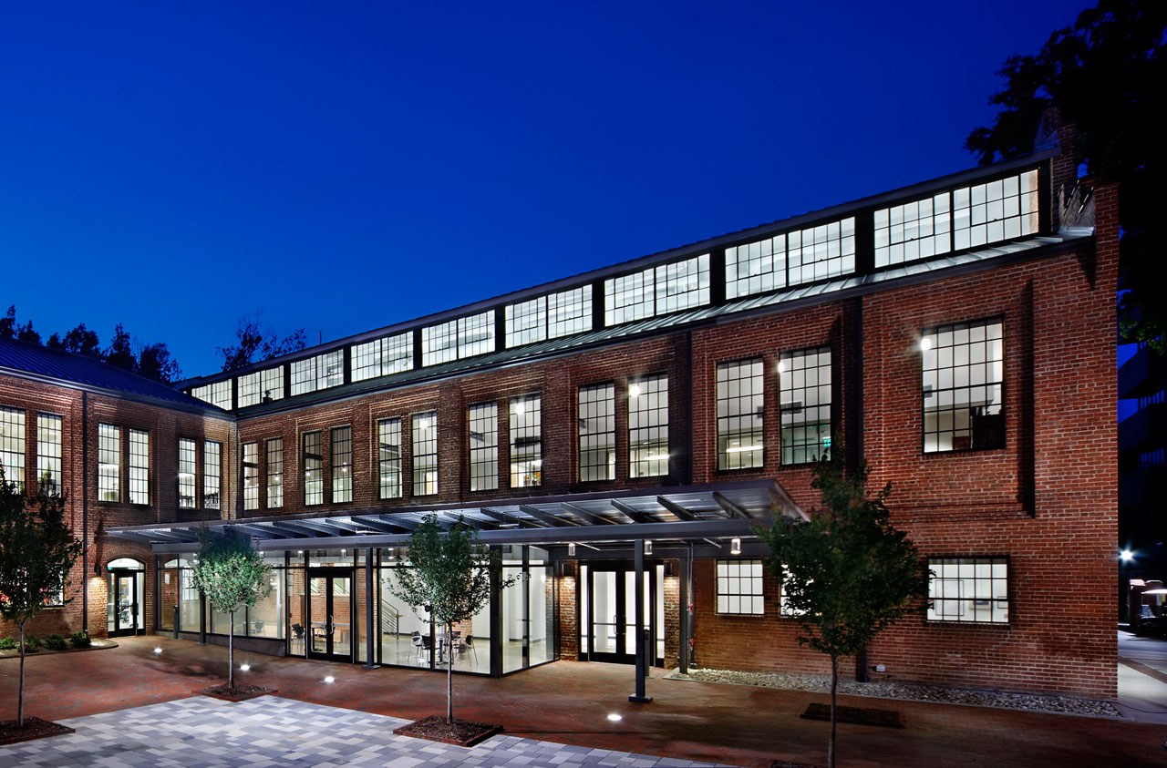 Park Shops Adaptive Reuse / Pearce Brinkley Cease + Lee, Courtesy of JWest Productions