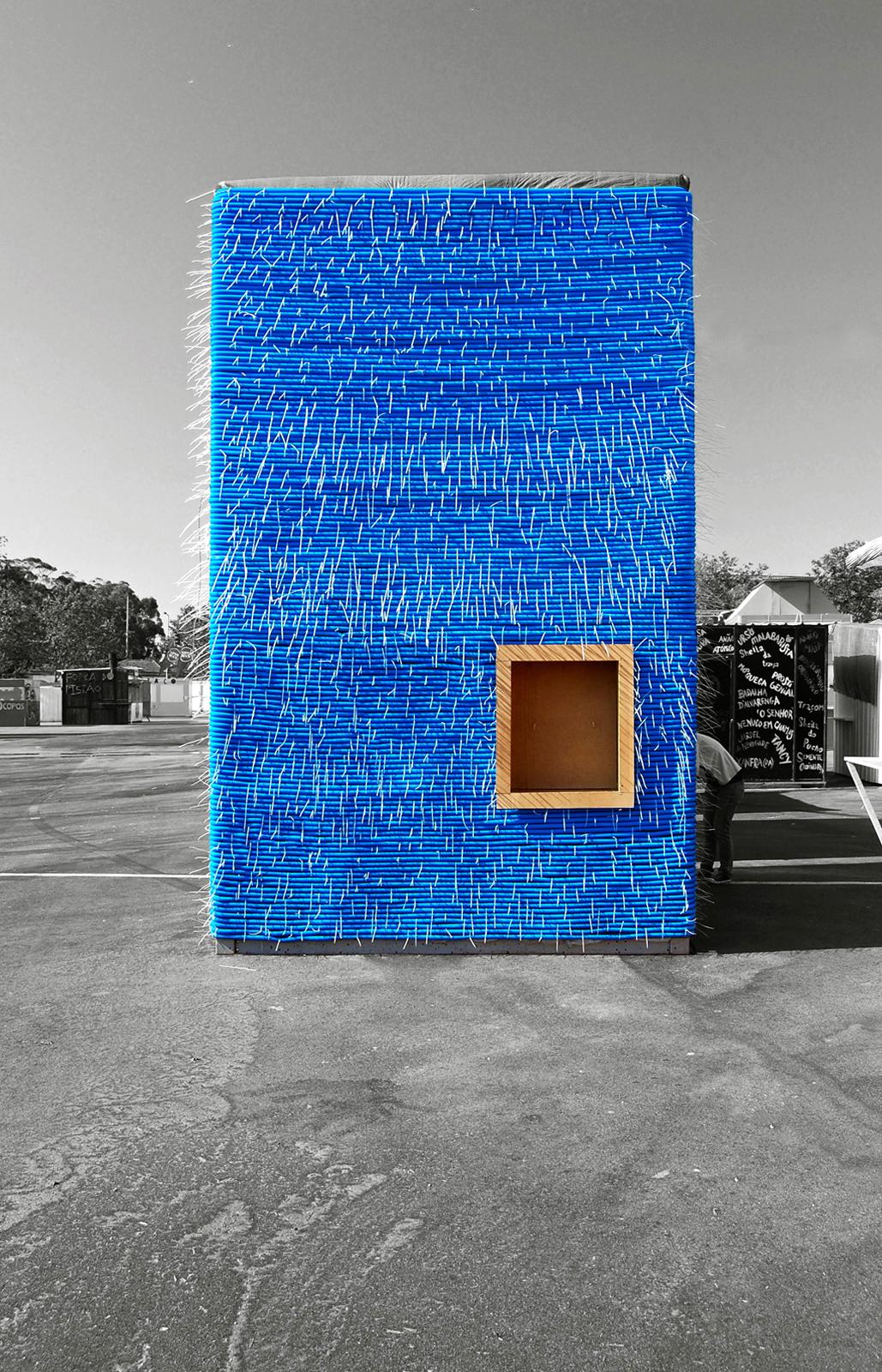 Bluetube Bar / DOSE, © DOSE + Carlos Trancoso