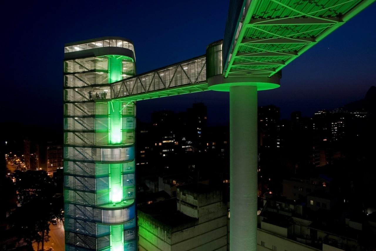 Rubem Braga Elevator Complex / JBMC Arquitetura & Urbanismo, Courtesy of JBMC
