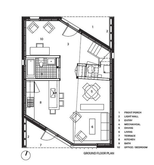 Office Building Floor Plans: R House / Architecture Research Office