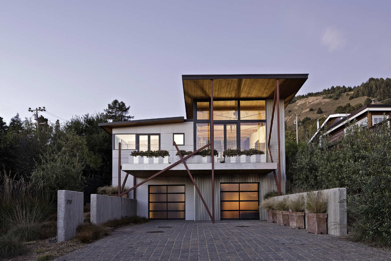 stinson beach house wa design inc courtesy of wa design inc - Wa Home Designs