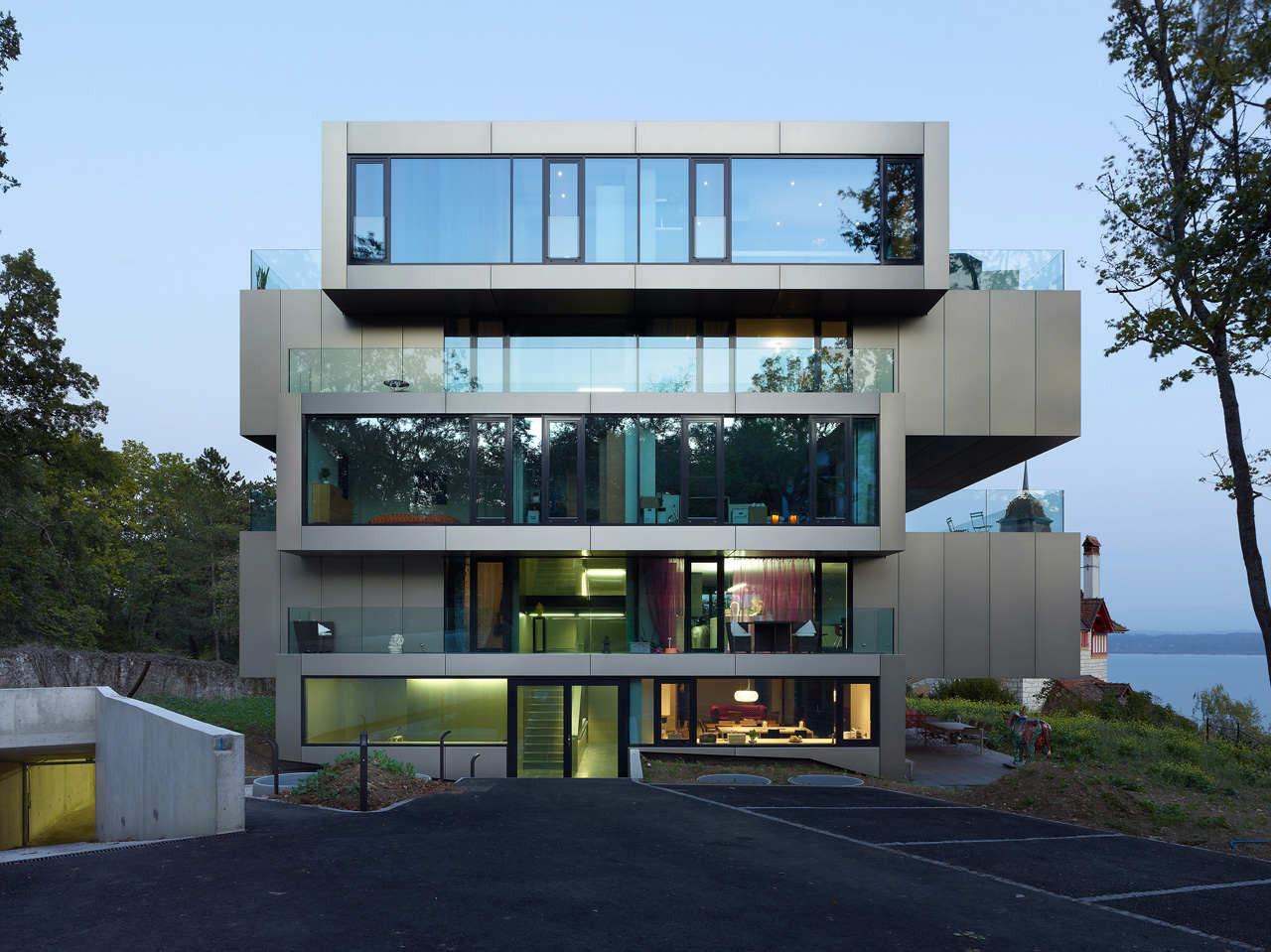 Gallery Of Residential Building L 39 Ermitage Ipas