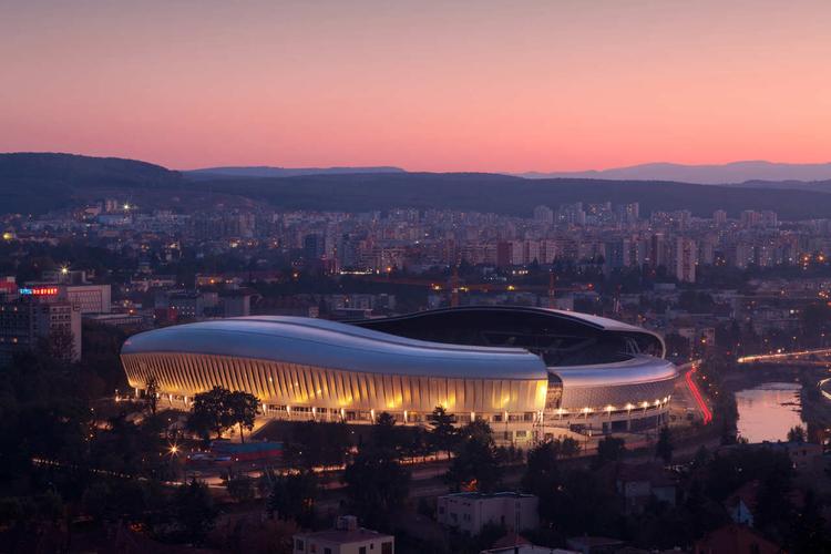 Cluj Arena / Dico si Tiganas, Courtesy of Dico si Tiganas