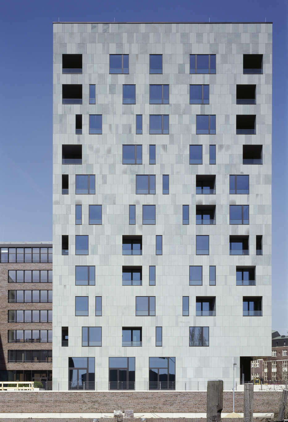 Hamburg Brooktorkai / Antonio Citterio Patricia Viel and Partners, © Klaus Frahm