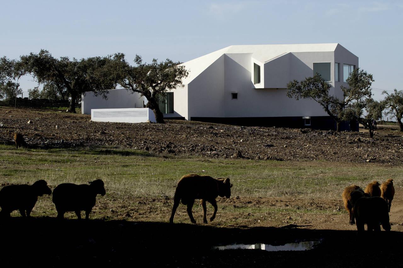 Amareleja Photovoltaic Central / Quadrante Arquitectura, © FG+SG – Fernando Guerra