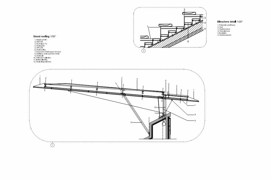 Gallery of dominique duvauchelle stadium atelier du pont for Atelier du jardin d acclimatation