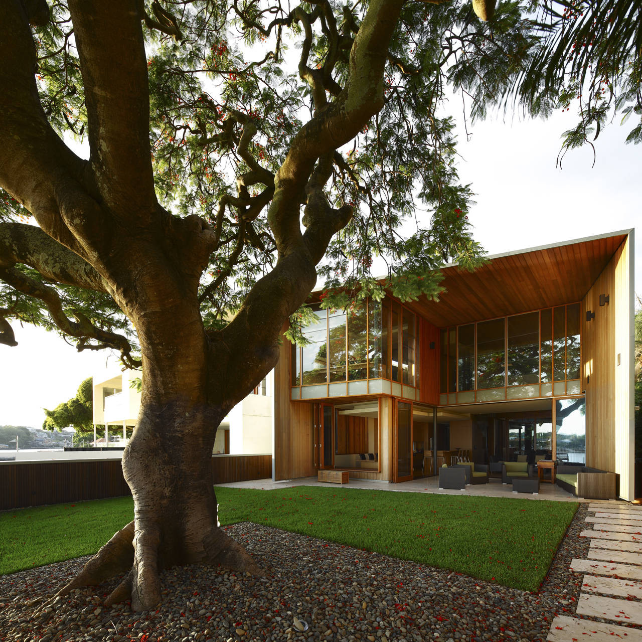 Arbour House / Richard Kirk Architect, © Scott Burrows