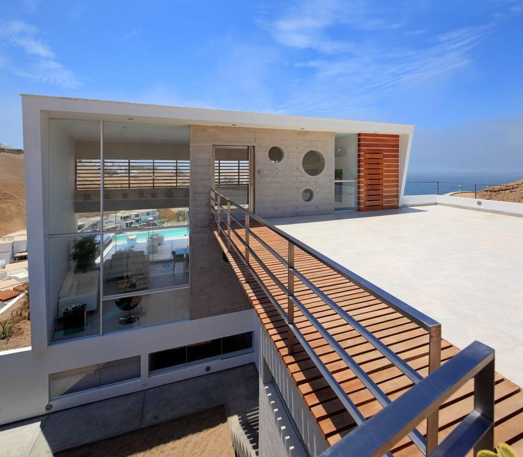 Beach House E-3 / Vértice Arquitectos, © Juan Solano Ojasi