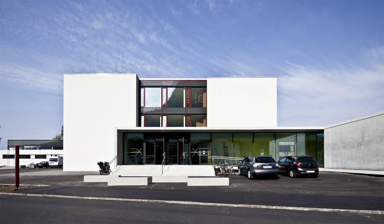 Volksschule Wallenmahd / Dietrich | Untertrifaller Architekten, © Bruno Klomfar