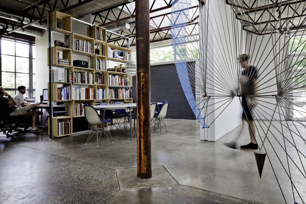 Tovin Studios / Sebastian Quinn Building Workshop, © Francois Dischinger