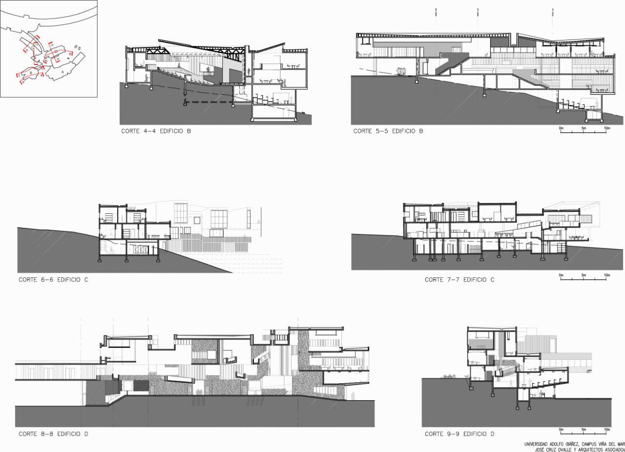 Gallery of adolfo iba ez university jos cruz ovalle y for Arquitectura nota de corte