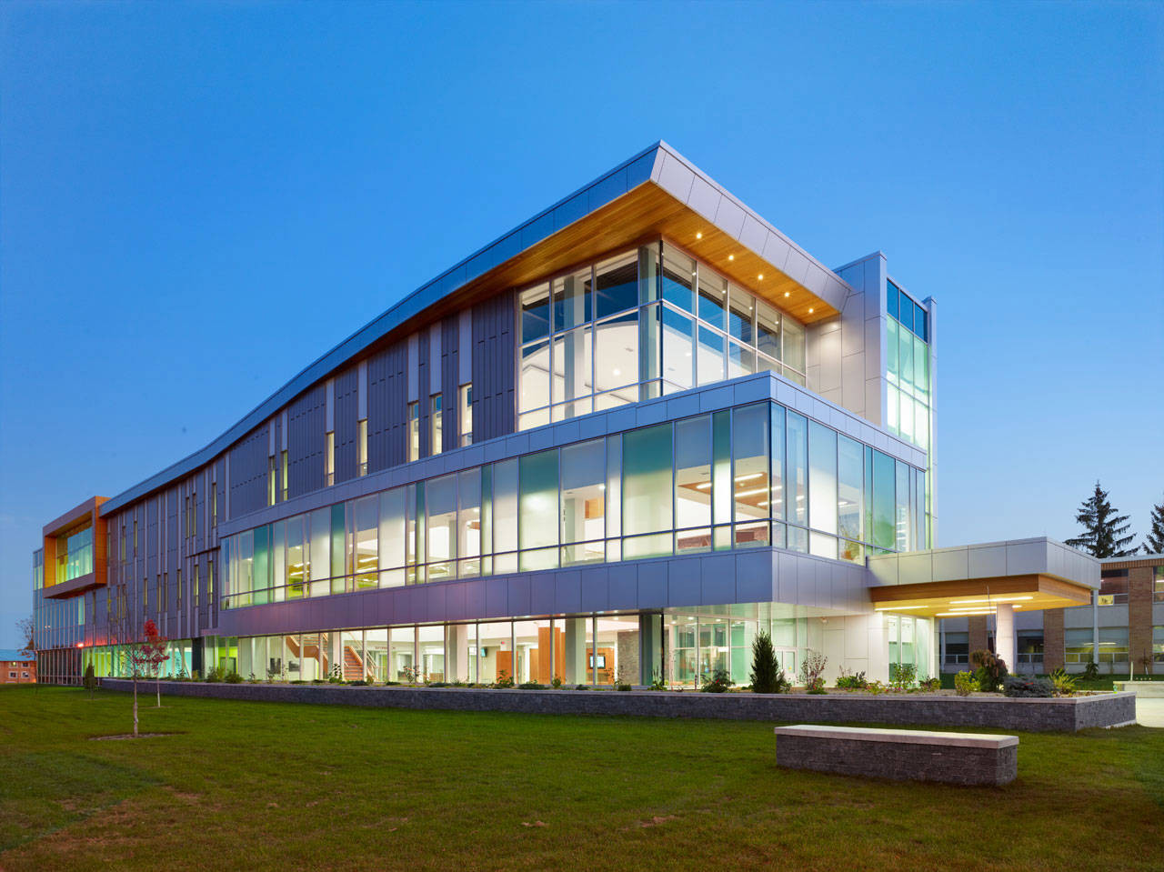 Sault College Academic Building / Architects Tillmann Ruth Robinson, © Shai Gil