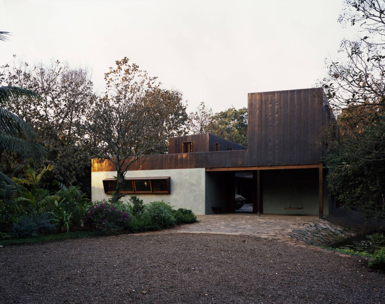 Copper House II / Studio Mumbai, Courtesy of  studio mumbai