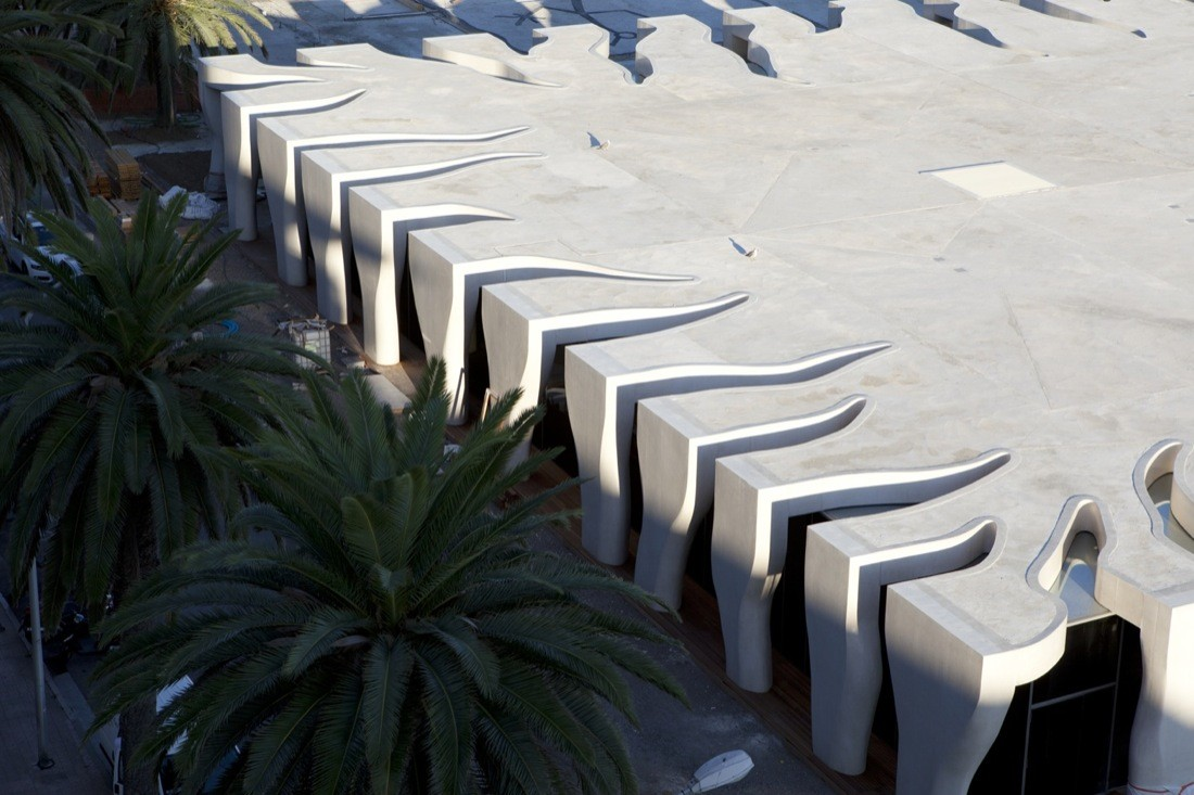 gallery of jean cocteau museum rudy ricciotti 19. Black Bedroom Furniture Sets. Home Design Ideas