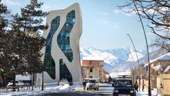 Mestia Police Station / J. Mayer H. Architects