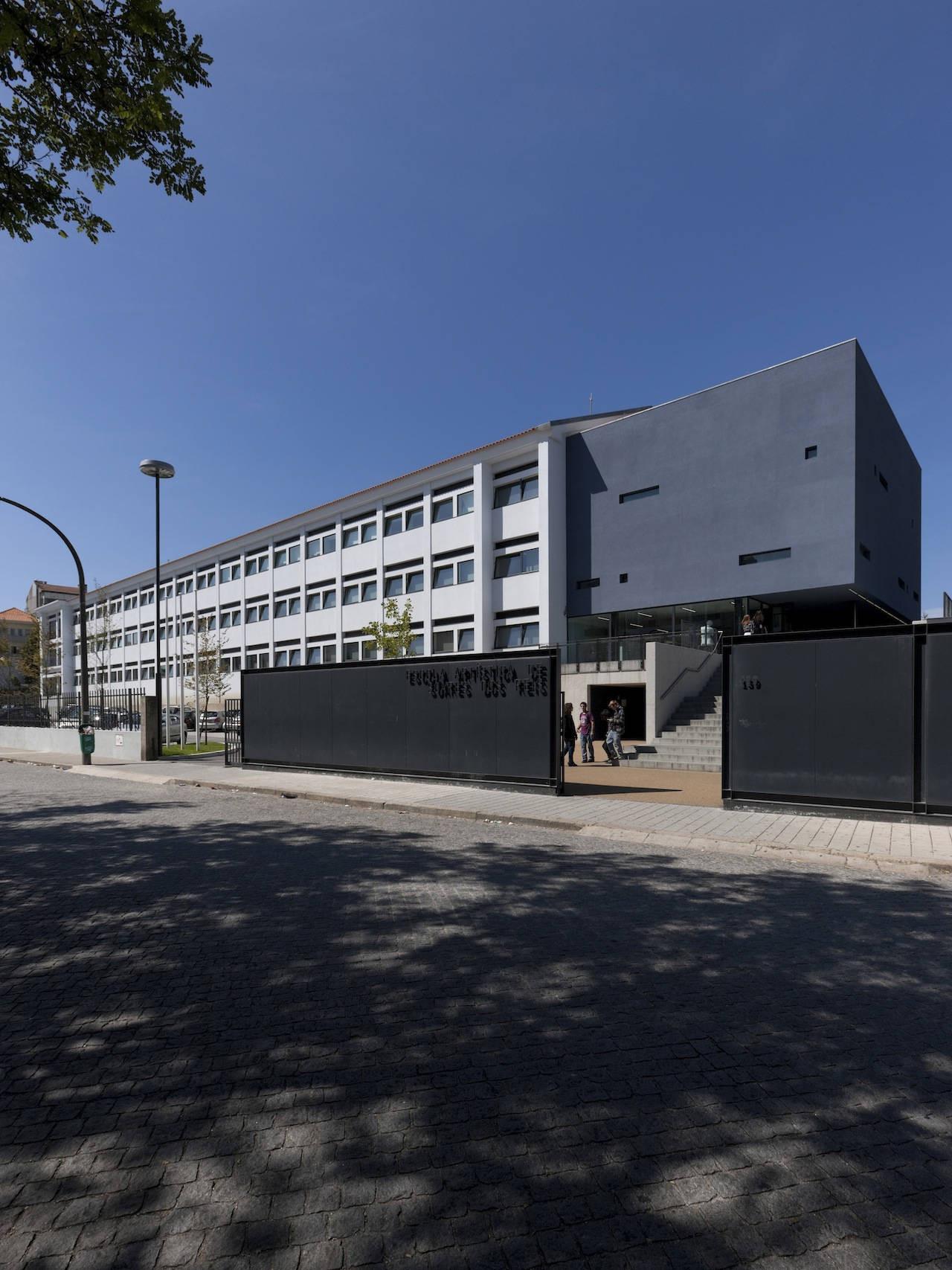 Soares dos Reis School of Arts / Carlos Prata + Nuno Barbosa, © Luís Ferreira Alves
