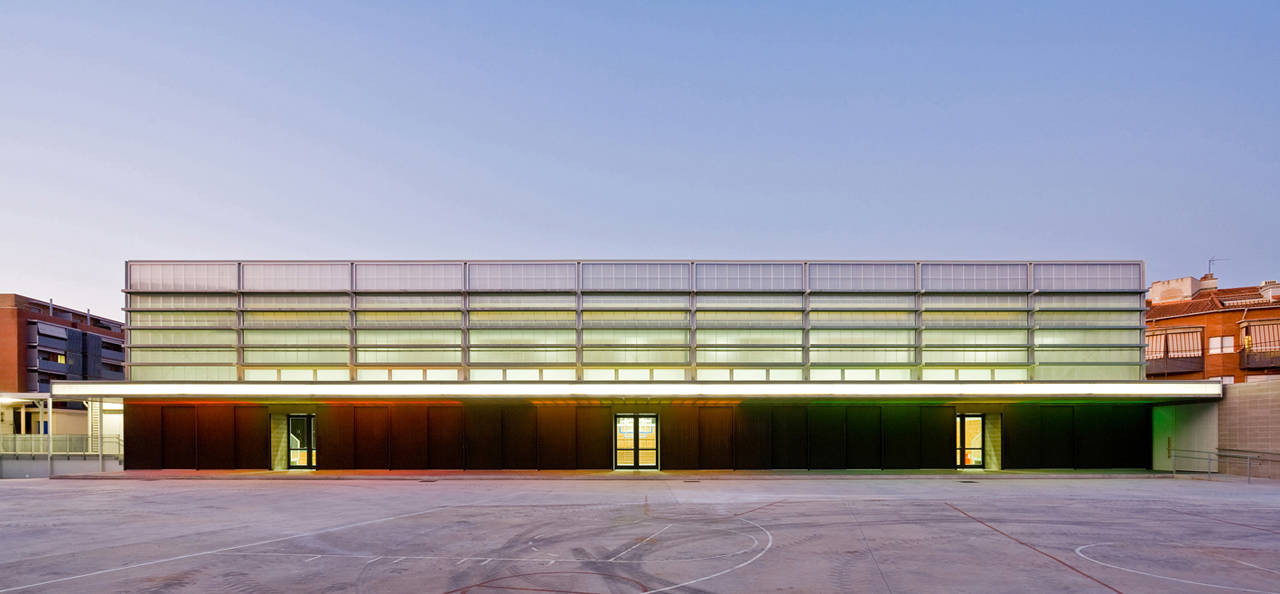 Sports Center in Rubí / CGP Arquitectos, © Francisco Urrutia