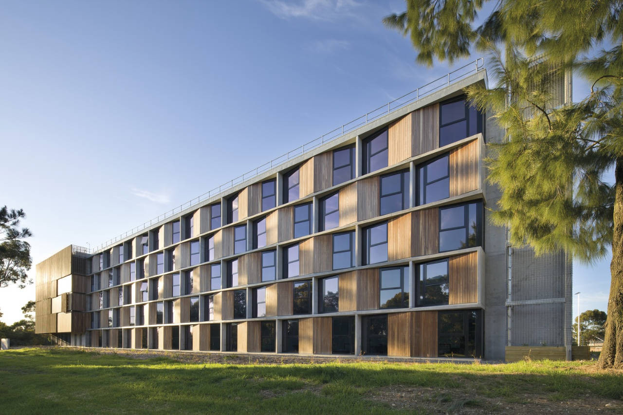 Monash university student housing bvn archdaily for College building design
