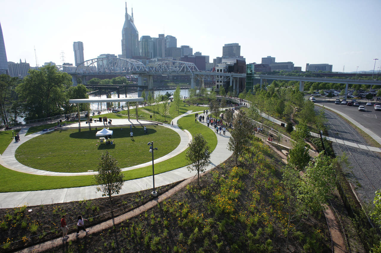 Cumberland Park / Hargreaves Associates, Courtesy of  hargreaves associates