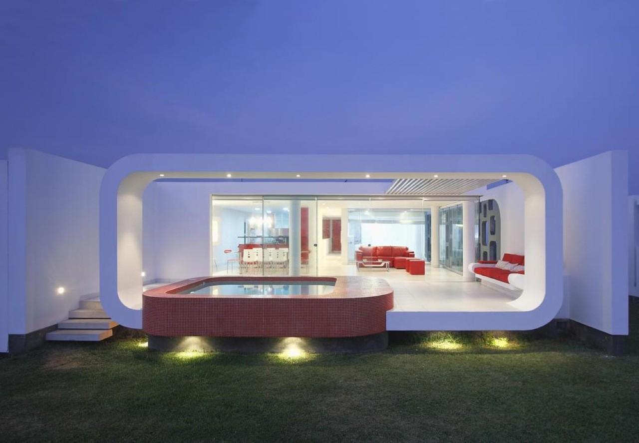 House in Beach Palabritas / Metropolis, © Elsa Ramirez