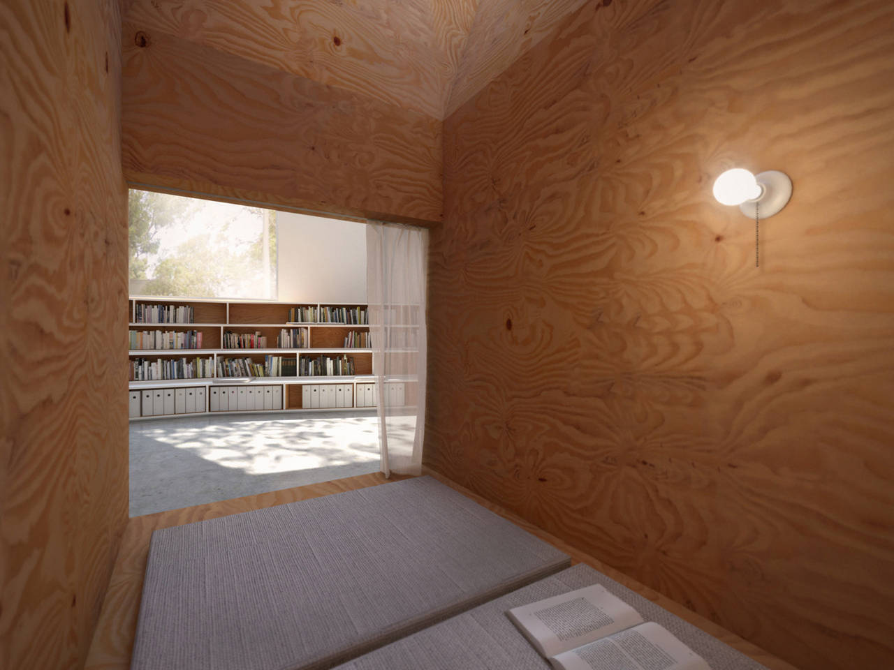 Gallery of hybrid office edward ogosta architecture 3 for Architecture hybride