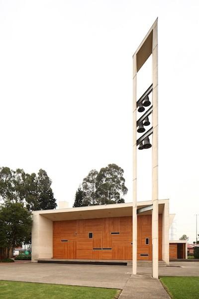Los Nogales School Chapel / Daniel Bonilla Arquitectos, © Ricardo Amado Fotografía