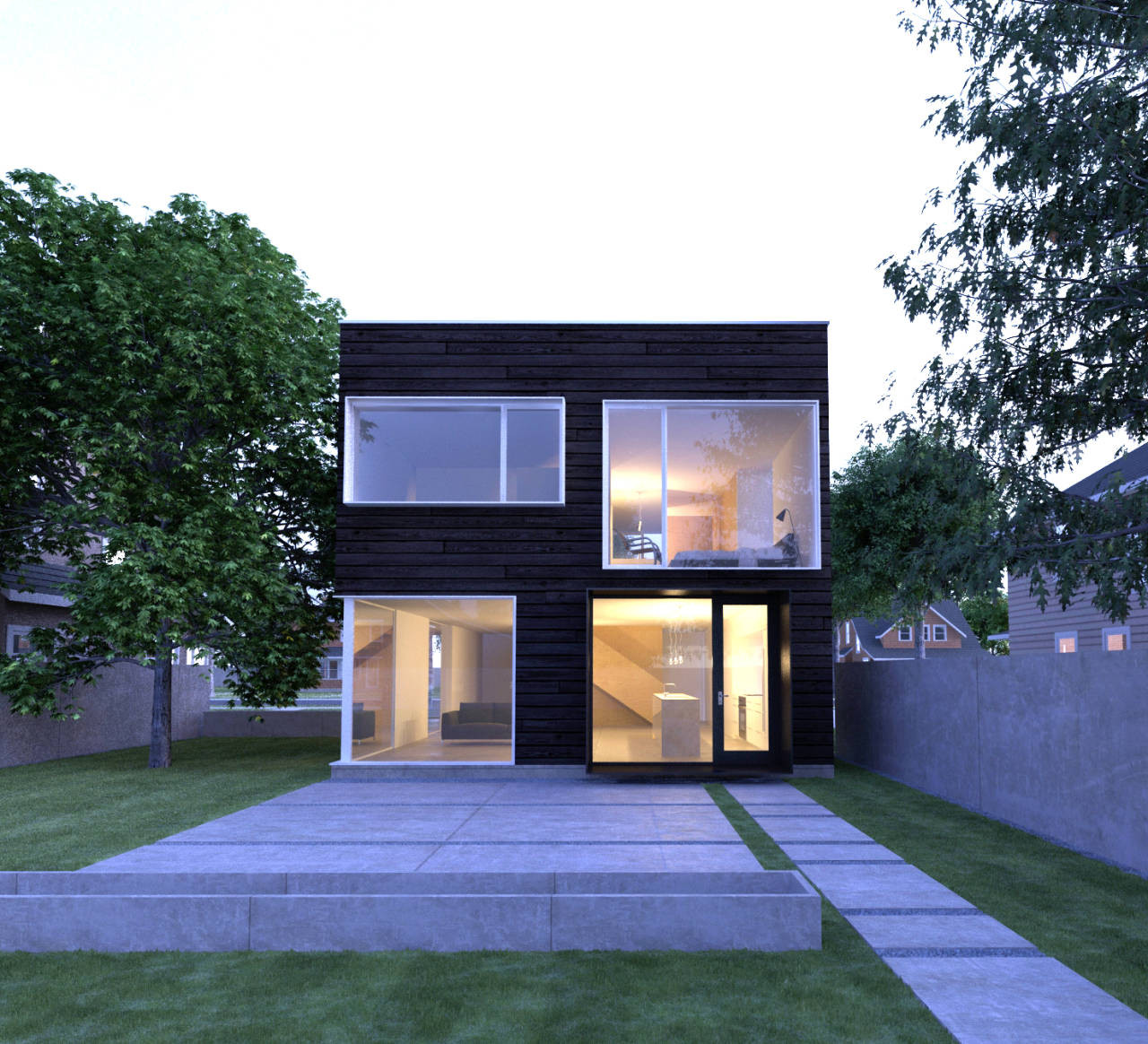INFILL / John Dwyer Architect, Courtesy of  john dwyer architect