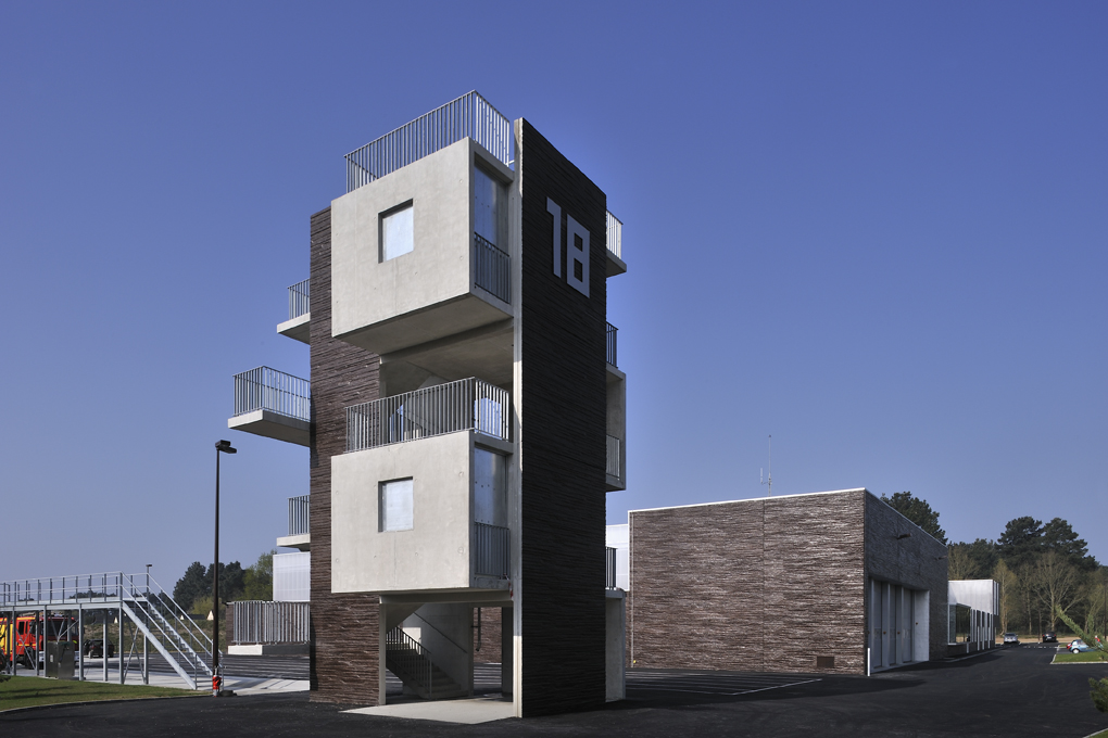 Sapeurs Pompiers de la Baule-Guerande / DDL architectes + Lorient - Agence Bohuon Bertic Architectes, © Patrick Miara
