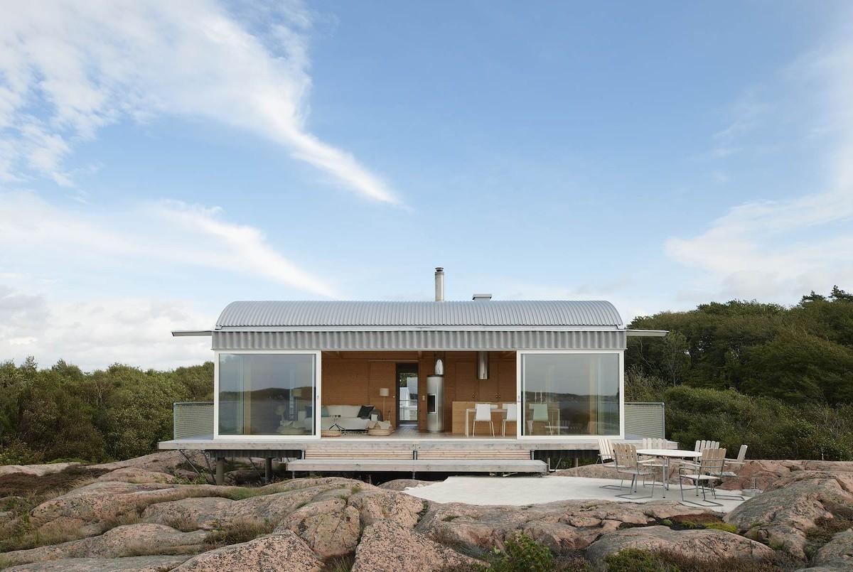 Summer houses in Slavik / Mats Fahlander, © Åke E:son Lindman/Otto