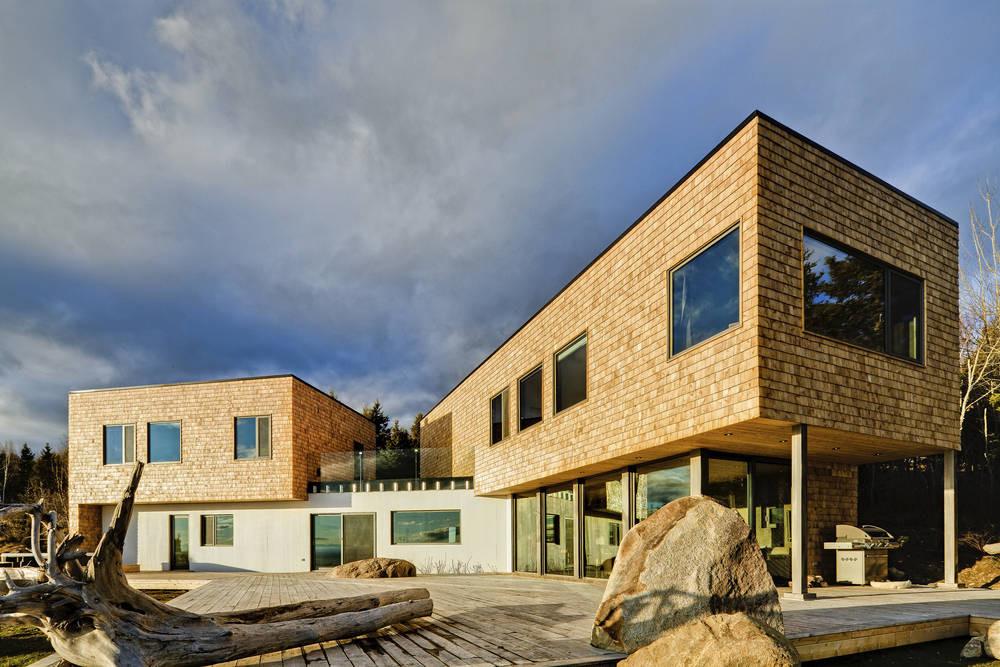 Malbaie VI Maree Basse / MU Architecture, © Ulysse Lemerise Bouchard